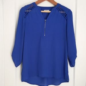 Maurice's blouse EUC